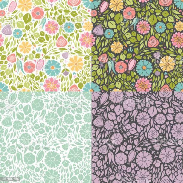 Seamless spring flowers vector id947502480?b=1&k=6&m=947502480&s=612x612&h=rntqxsgrxiuawd0onqfxencpuc bb4yi g4ys1jly0a=