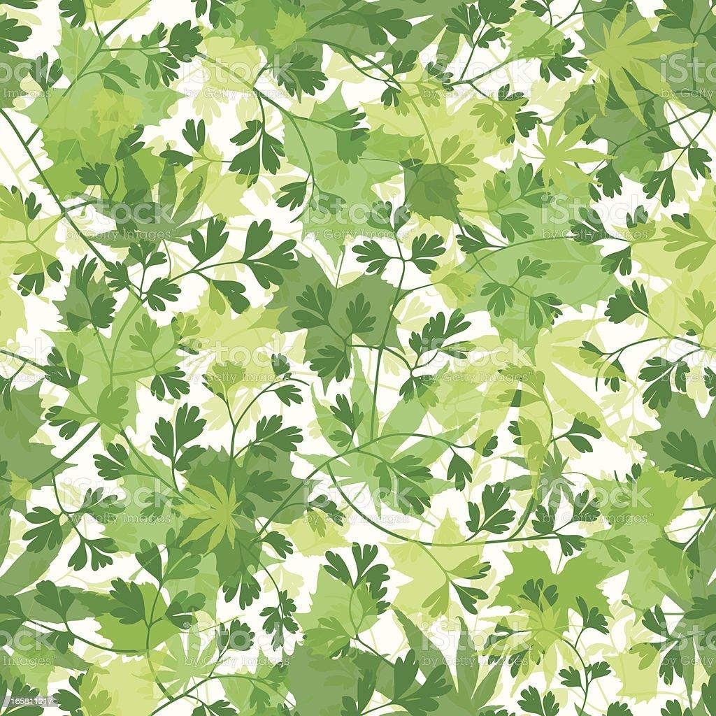 Seamless Spring Wallpaper Background Stockvectorkunst En