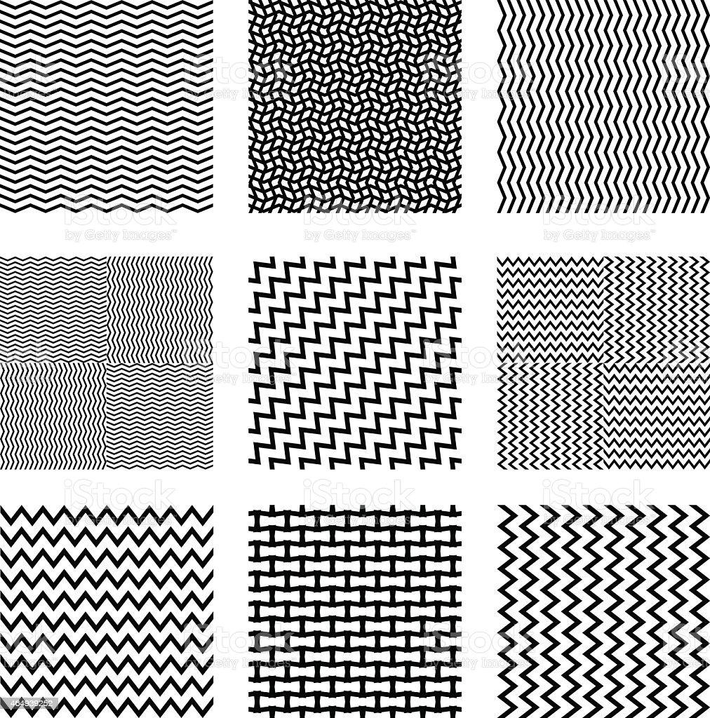 seamless square backgrounds vector art illustration