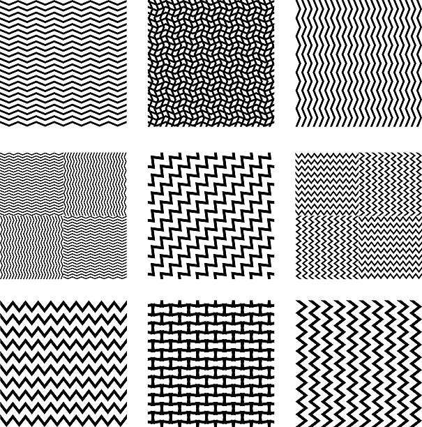 seamless square backgrounds seamless square backgrounds zigzag stock illustrations