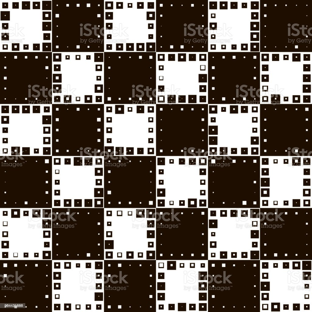 Seamless Square Pattern - Royalty-free Abstract stock vector