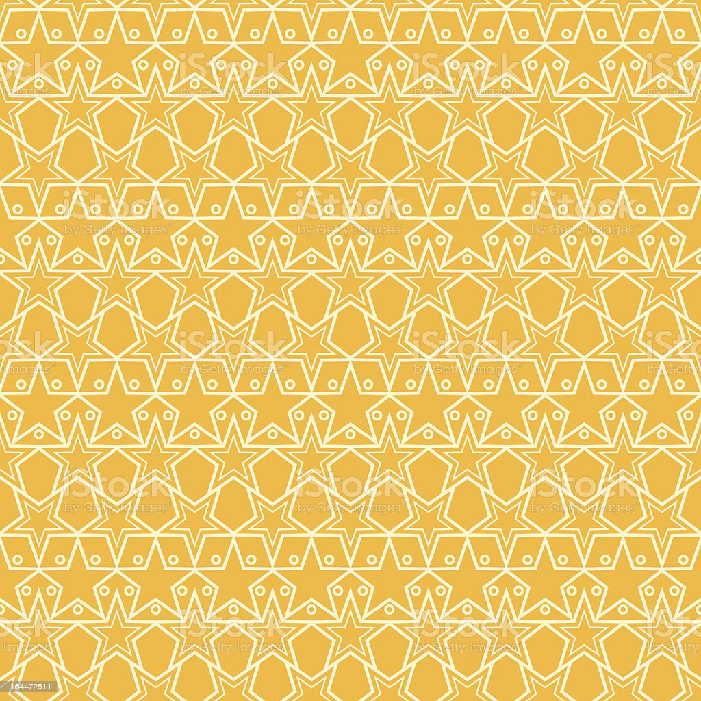 Seamless Star Pattern royalty-free stock vector art