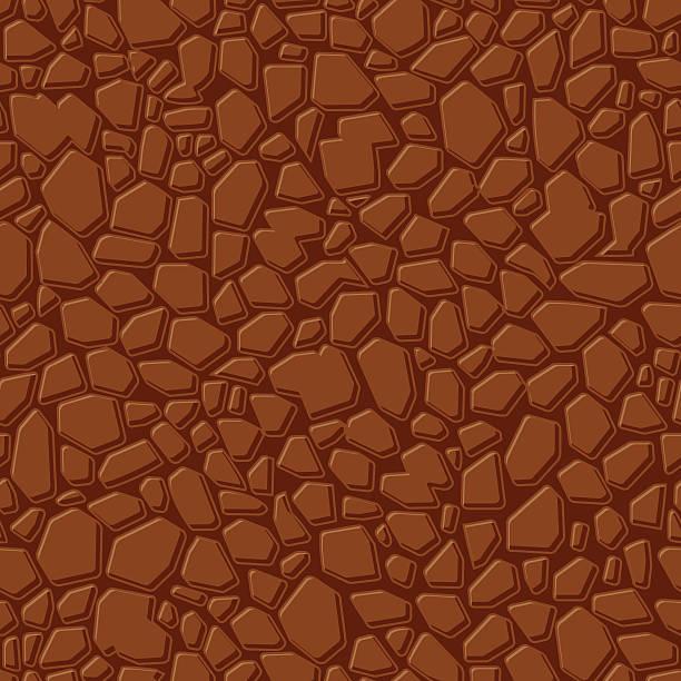Seamless Stone Texture vector art illustration