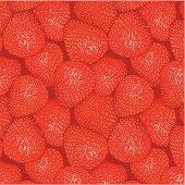 Delicious looking, seamless strawberries pattern.
