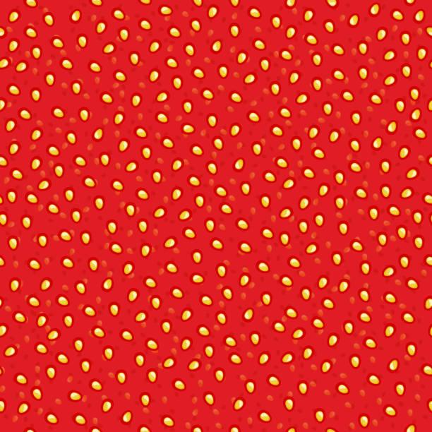 ilustrações de stock, clip art, desenhos animados e ícones de compota de morango sem costura padrão. - strawberry