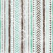 Seamless striped pattern. Ethnic and tribal motifs.