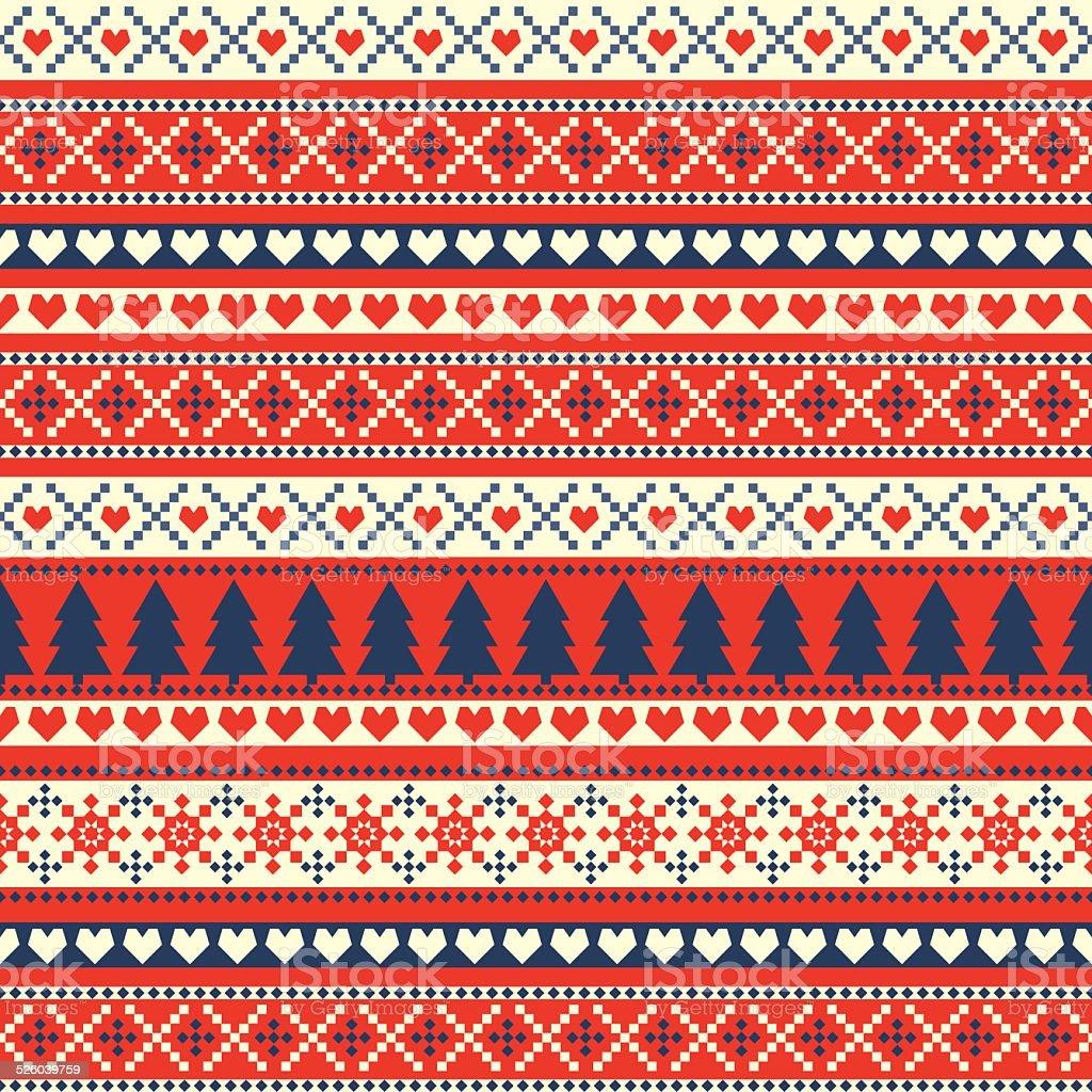 2f11098f1e77 Seamless sweater Christmas pattern royalty-free seamless sweater christmas  pattern stock vector art  amp