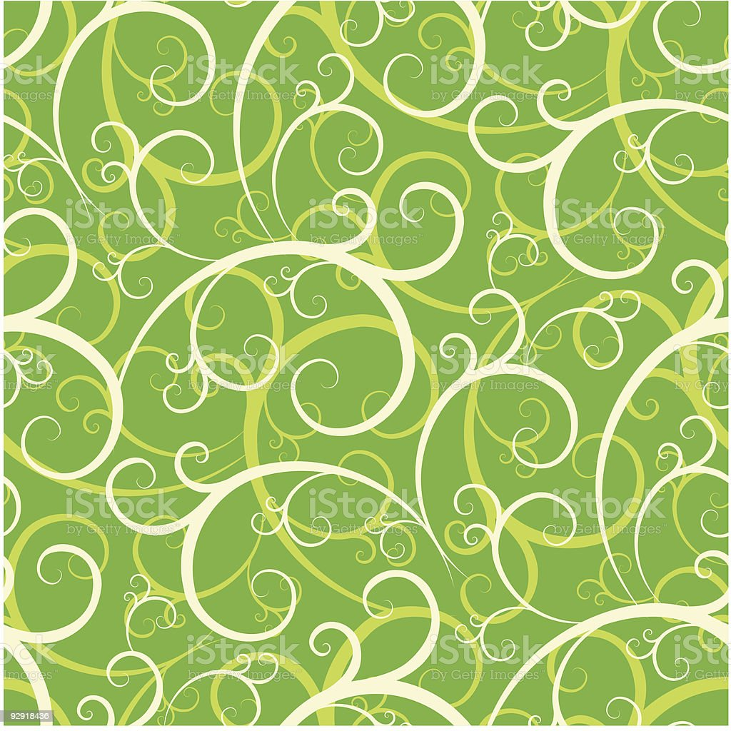 Seamless Swirly Wallpaper Pattern royalty-free seamless swirly wallpaper pattern stock vector art & more images of abstract