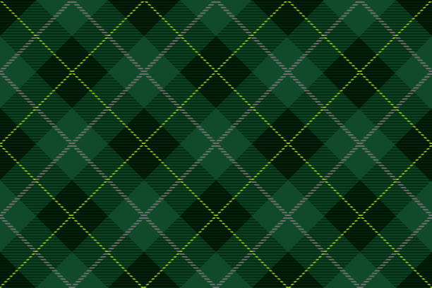 Seamless Tartan plaid, vector illustration. Seamless Tartan plaid, vector illustration. Horizontally and vertically repeatable. tartan pattern stock illustrations