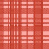 Seamless tartan scottish lumberjack red color pastel. Colorful trendy feminine fashion background ready for print.