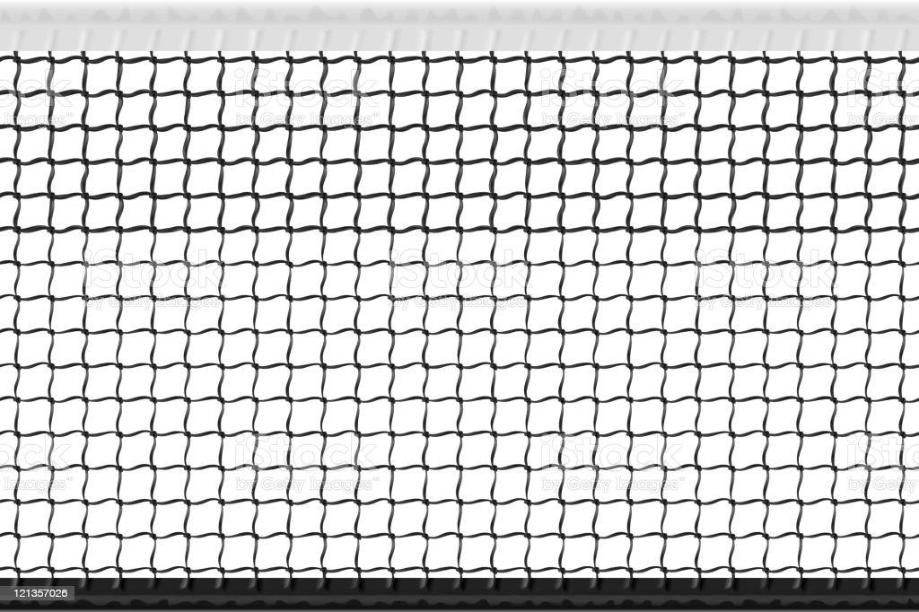 Seamless tennis net vector art illustration