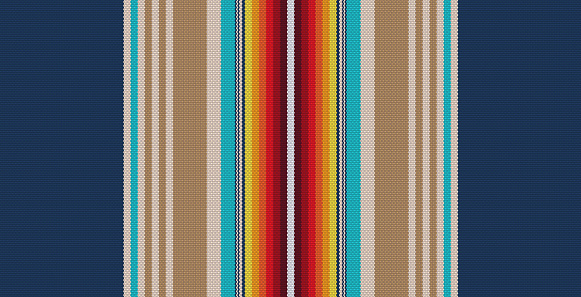 seamless textile design. abstract colored stripes pattern.