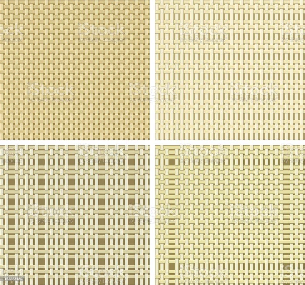 Seamless textile pattern vector art illustration