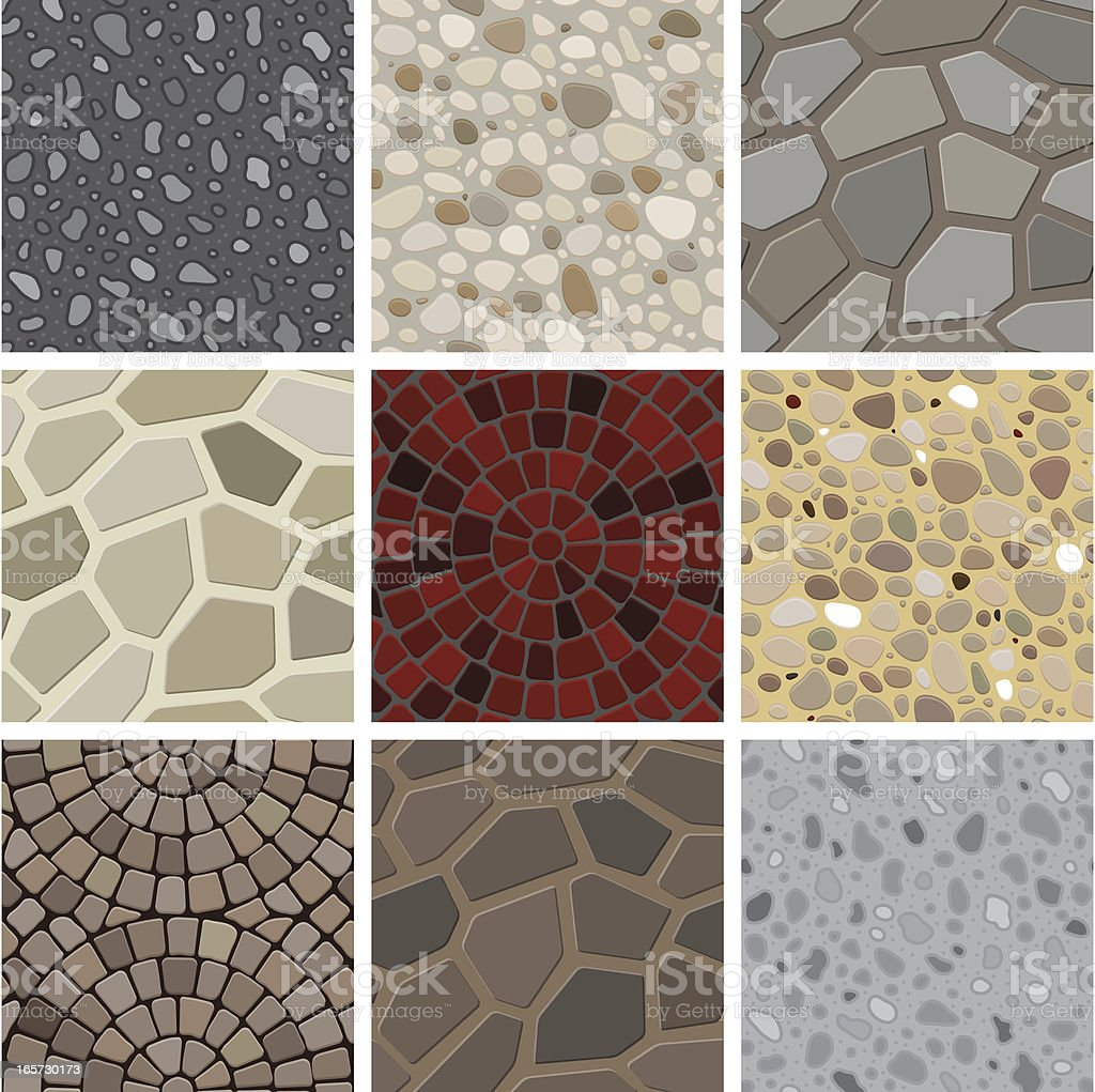 Seamless texture - floor decoration royalty-free stock vector art
