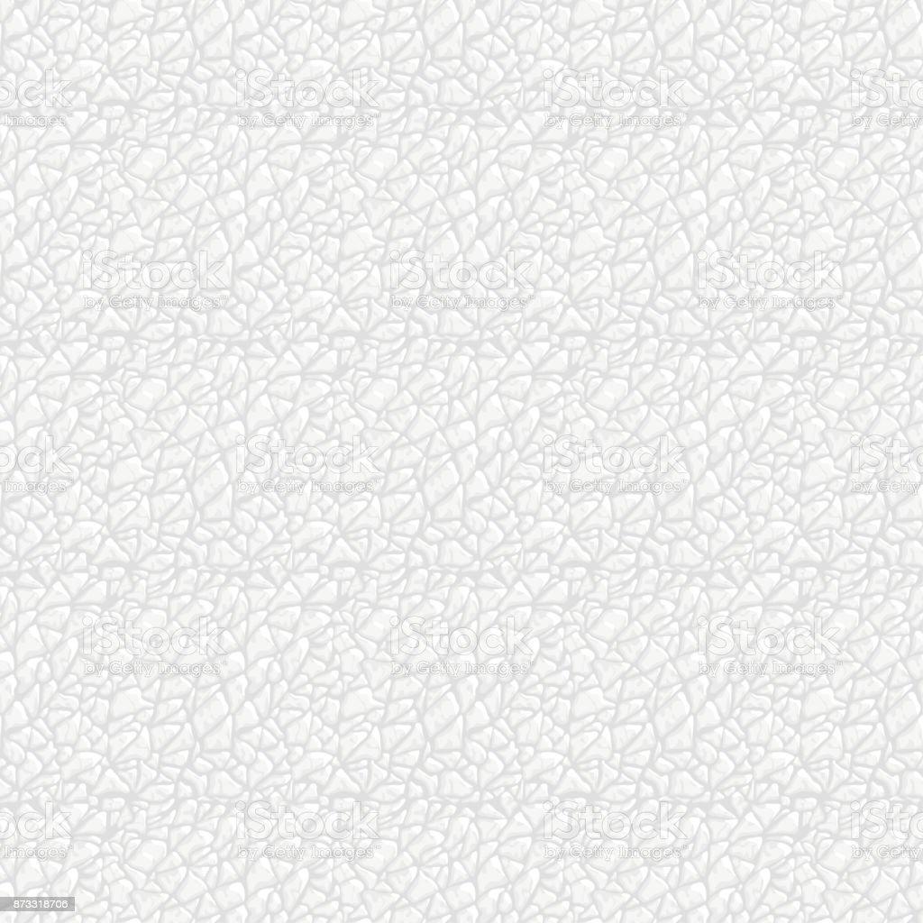 Perfecta textura de cuero blanco. - ilustración de arte vectorial
