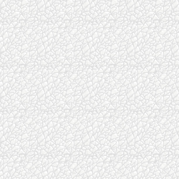 ilustraciones, imágenes clip art, dibujos animados e iconos de stock de perfecta textura de cuero blanco. - textura de pieles