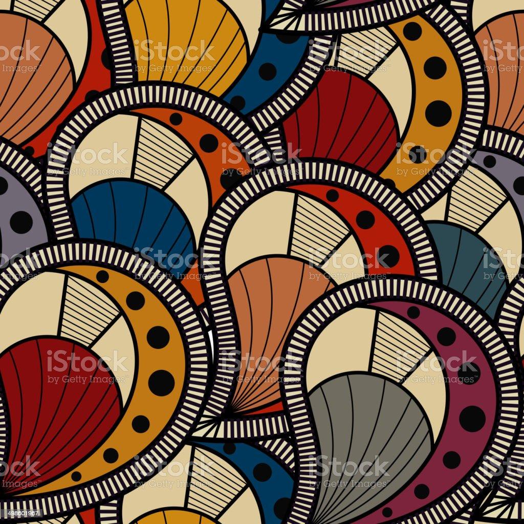 Textura sem costura - ilustração de arte em vetor