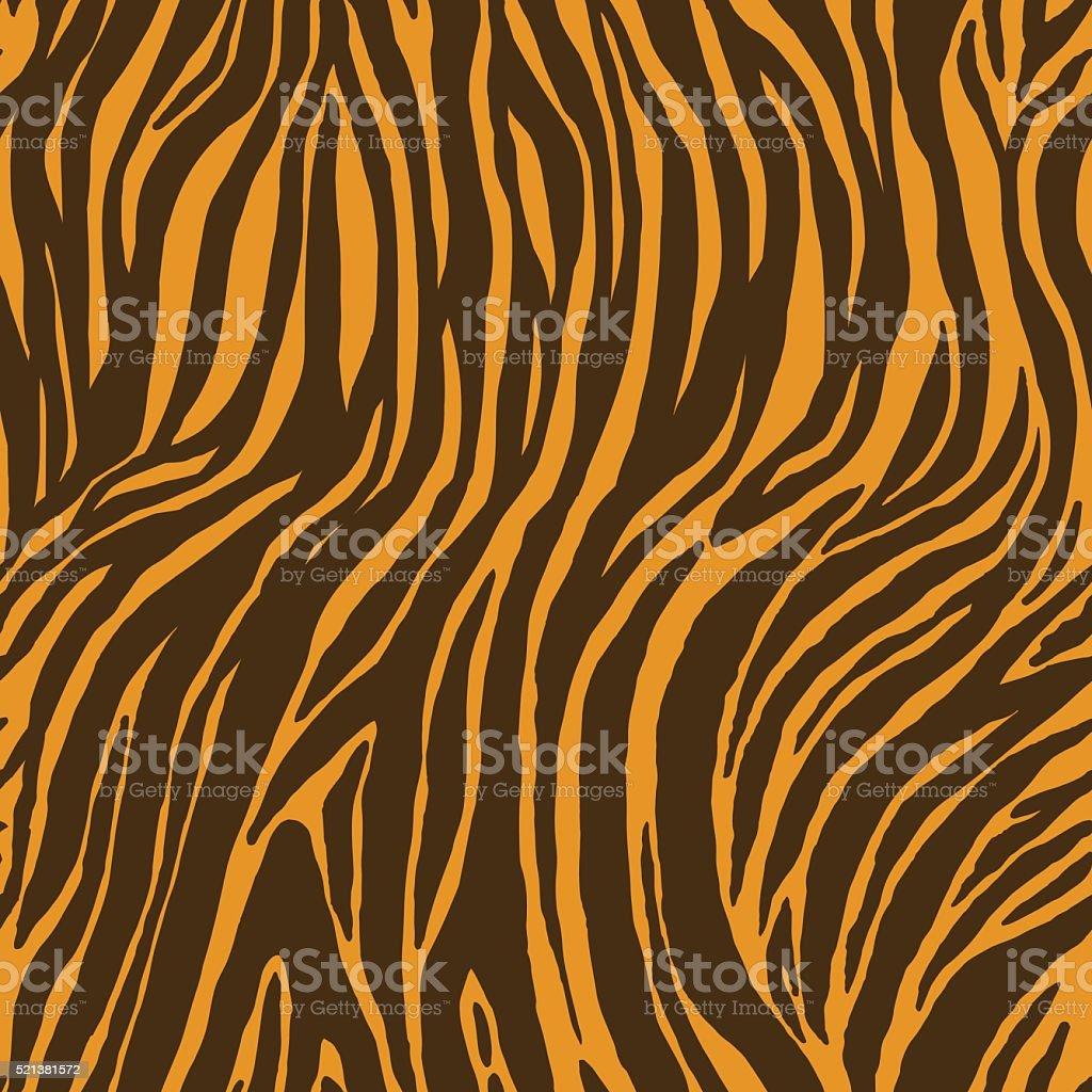 Nahtlose Textur mit Tierhaut. – Vektorgrafik