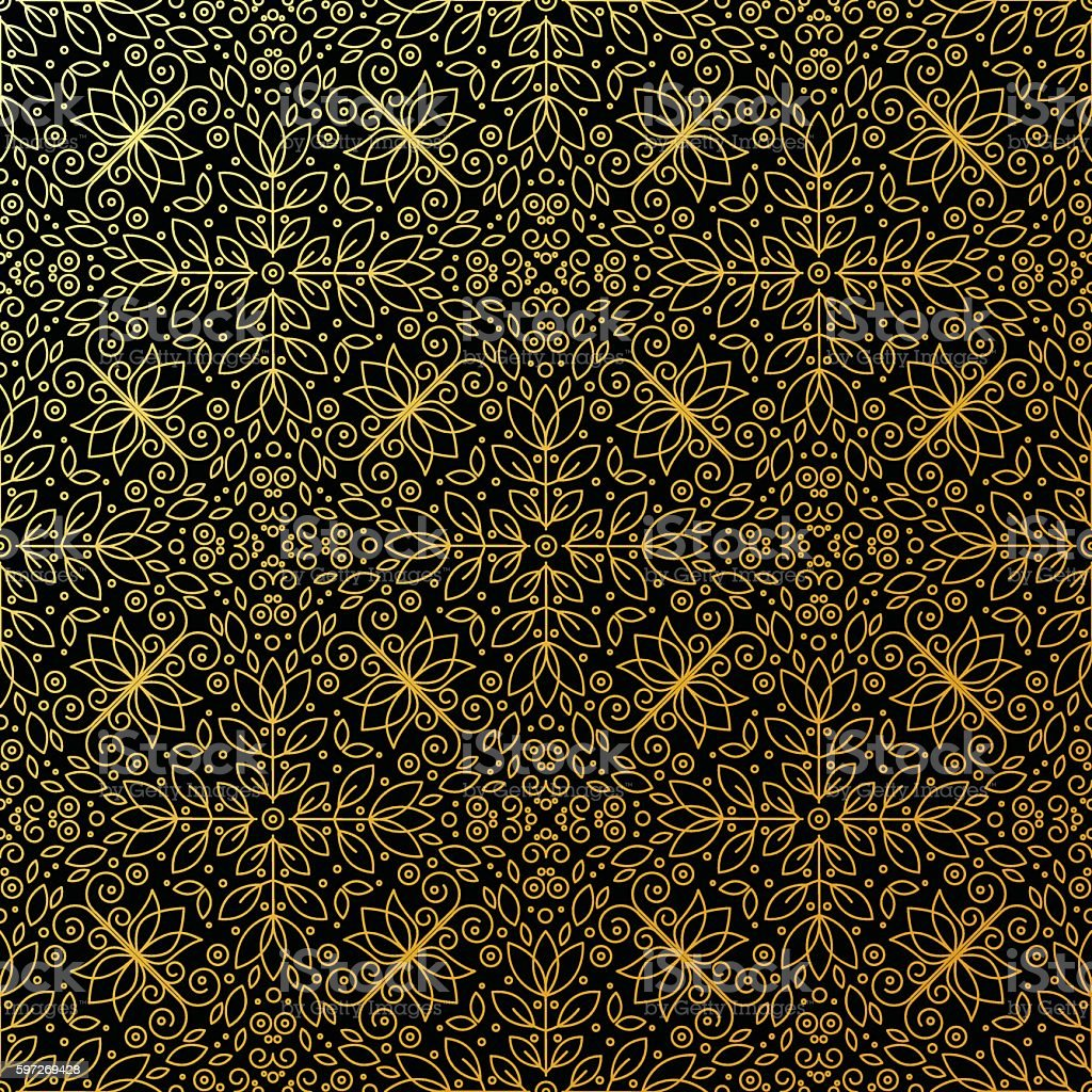 Seamless texture with vintage geometric ornament. royalty-free seamless texture with vintage geometric ornament stock vector art & more images of arts culture and entertainment