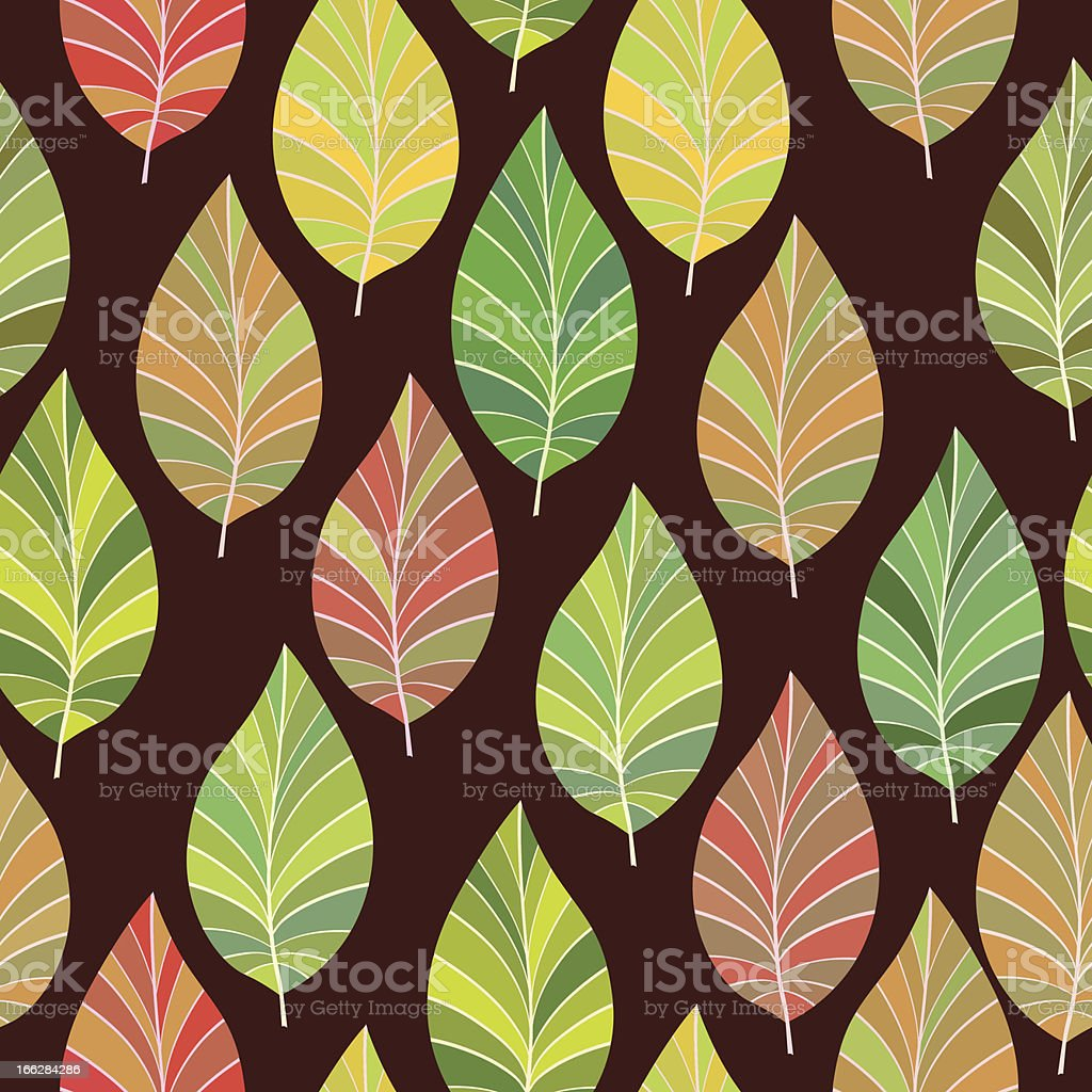 Seamless. The leaves and branches. royalty-free seamless the leaves and branches stock vector art & more images of autumn