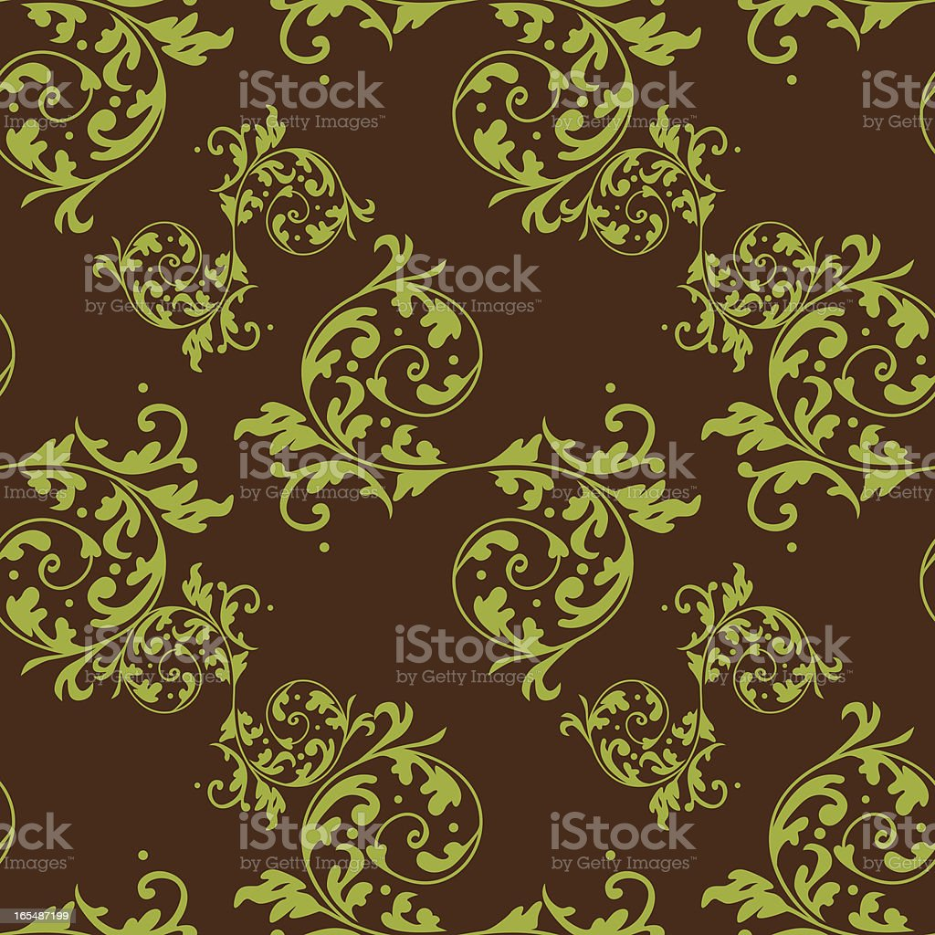 Seamless Tiled Wallpaper XI royalty-free stock vector art