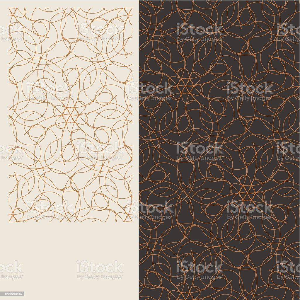Seamless tiles serieF royalty-free stock vector art