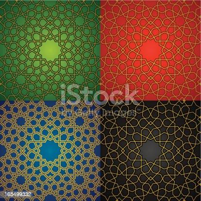 A seamless infinite pattern.