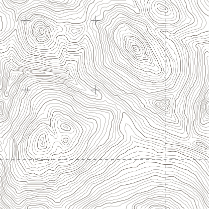 Big seamless topography tile vector. Depicts rugged mountainous terrain in a fictional location. Includes hi-res jpeg (3700x3700).