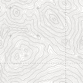 Seamless Topographic Map