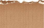 seamless torn cardboard banner
