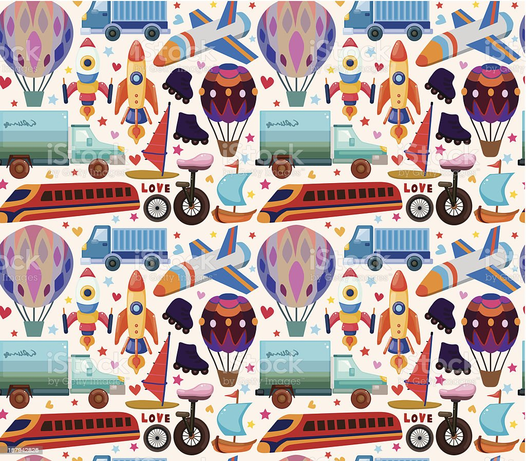 seamless transport pattern royalty-free seamless transport pattern stock vector art & more images of backdrop