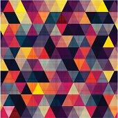 seamless triangle geometric pattern