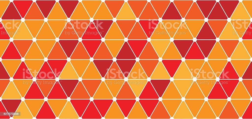 Seamless triangle pattern vector art illustration