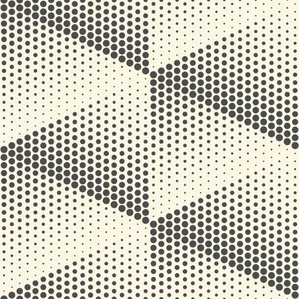 Nahtlose Dreieck Wallpaper. Minimale Punkte-Grafik-Design – Vektorgrafik