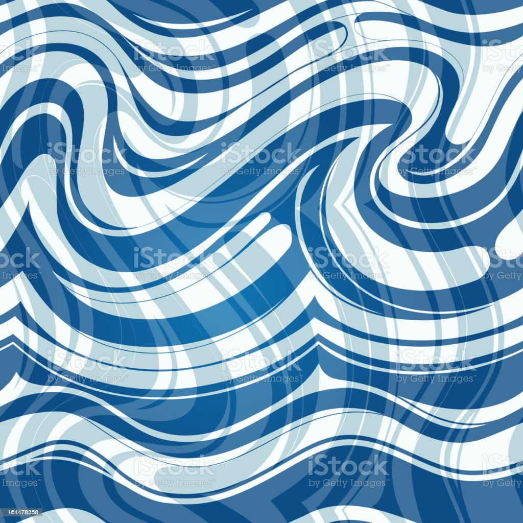 Seamless underwater pattern royalty-free stock vector art