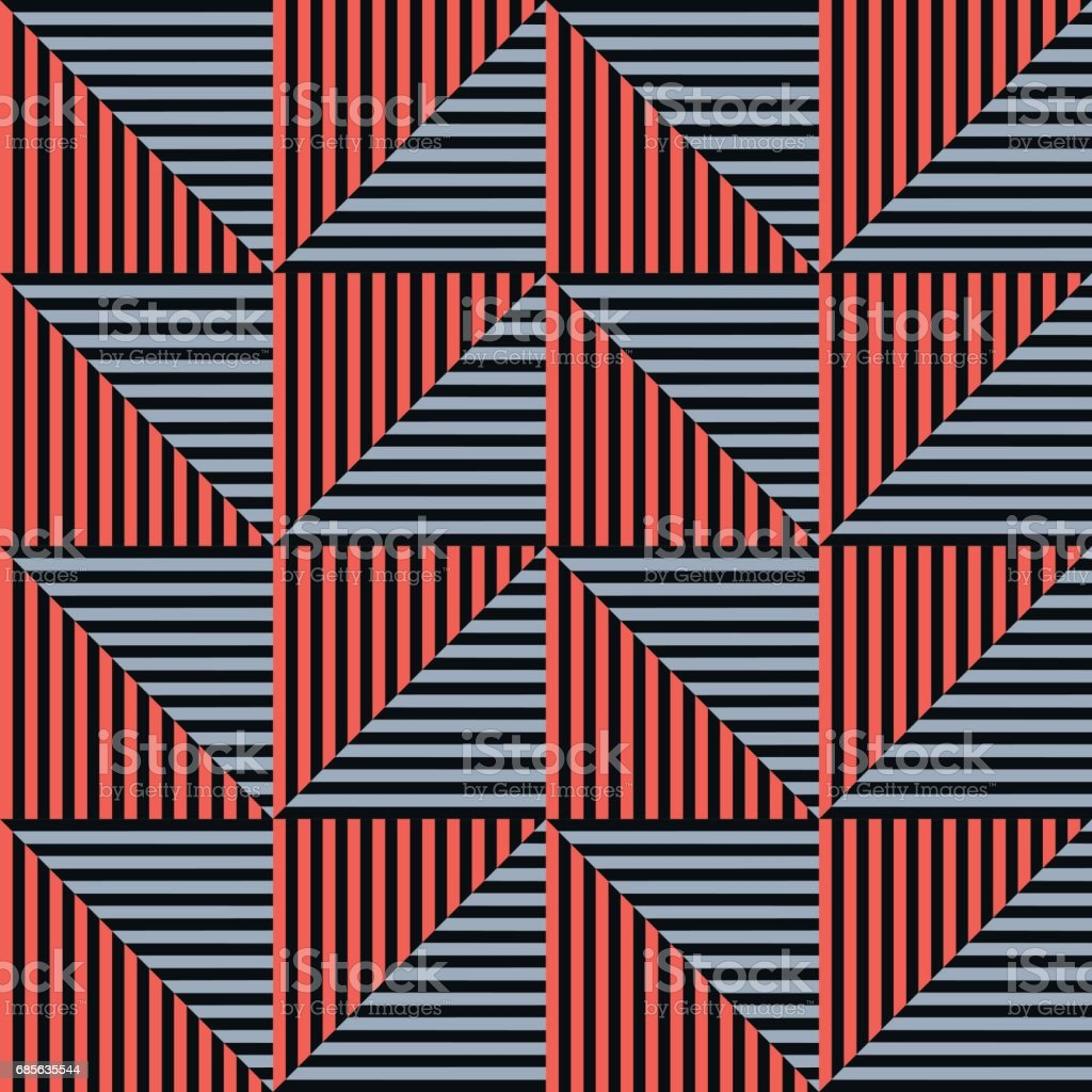 Seamless vector abstract pattern. symmetrical geometric repeating background with decorative rhombus, triangles. Simle graphic design for web backgrounds, wallpaper, wrapping, surface, fabric royalty-free seamless vector abstract pattern symmetrical geometric repeating background with decorative rhombus triangles simle graphic design for web backgrounds wallpaper wrapping surface fabric 갈색에 대한 스톡 벡터 아트 및 기타 이미지