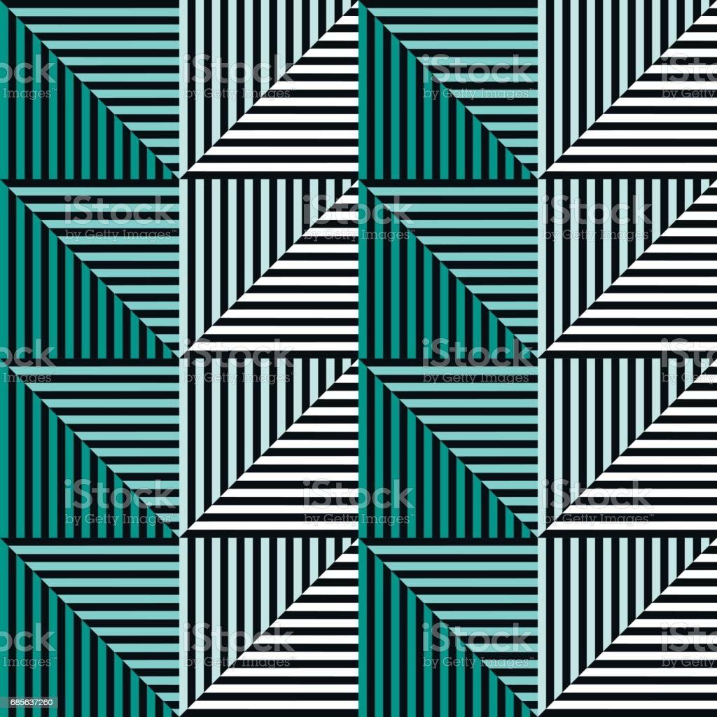 Seamless vector abstract pattern. symmetrical geometric repeating background with decorative rhombus, triangles. Simle graphic design for web backgrounds, wallpaper, wrapping, surface, fabric royalty-free seamless vector abstract pattern symmetrical geometric repeating background with decorative rhombus triangles simle graphic design for web backgrounds wallpaper wrapping surface fabric 강렬하고 밝은 색상에 대한 스톡 벡터 아트 및 기타 이미지
