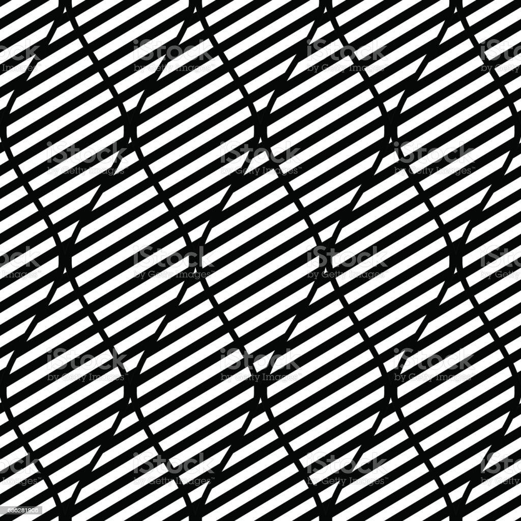 Modele Abstrait Vectorielle Continue Fond De Repetition Geometrique