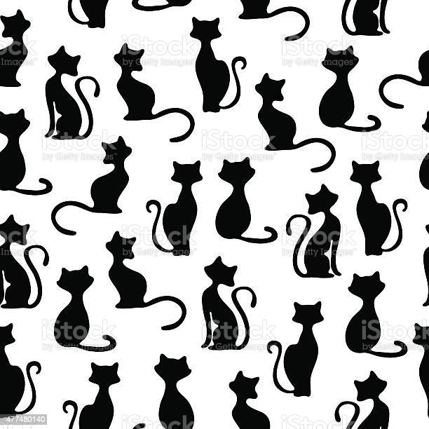 Seamless vector background with cats vector id477480140?b=1&k=6&m=477480140&s=612x612&h=3mscpkiwymph9tppc3eva300wteuofulkfihfdq301e=