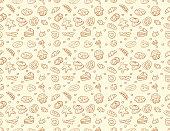 istock Seamless vector bakery & pastry pattern 880710798