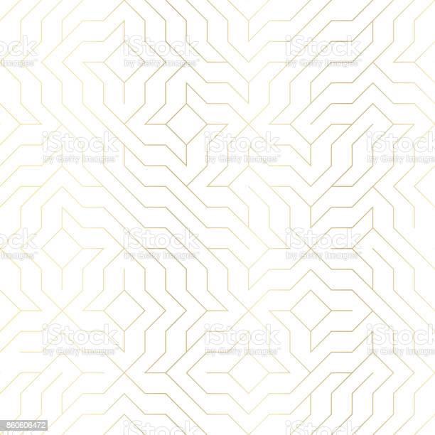 Seamless vector geometric golden line pattern abstract background vector id860606472?b=1&k=6&m=860606472&s=612x612&h=g815amjvfcgc5xqlhr4oaodisy6d9l6ul2cp lkv7rw=