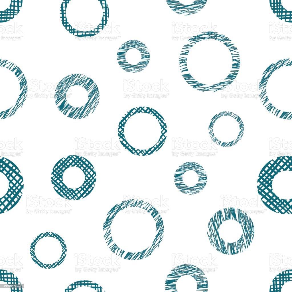 손으로 그린 서클 끝 없는 배경을 원활한 벡터 기하학 패턴 질감 기하학적 그림, 포장, 웹 배경, 바탕 화면에 대 한 양식 파스텔 그래픽 일러스트 템플릿 royalty-free 손으로 그린 서클 끝 없는 배경을 원활한 벡터 기하학 패턴 질감 기하학적 그림 포장 웹 배경 바탕 화면에 대 한 양식 파스텔 그래픽 일러스트 템플릿 거미줄에 대한 스톡 벡터 아트 및 기타 이미지