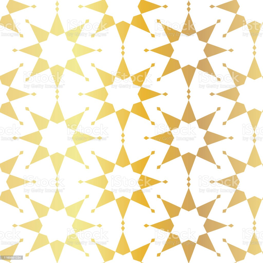 Seamless vector gold pattern. Repeat golden abstract background for...