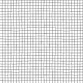 Seamless vector hand drawn minimalistic squared pattern.