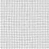 Seamless vector hand drawn minimalistic squared pattern