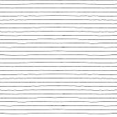 Seamless vector hand drawn minimalistic striped pattern