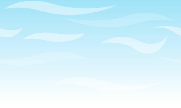 Seamless vector light blue sky with haze. Seamless vector light blue sky with haze. adventure backgrounds stock illustrations