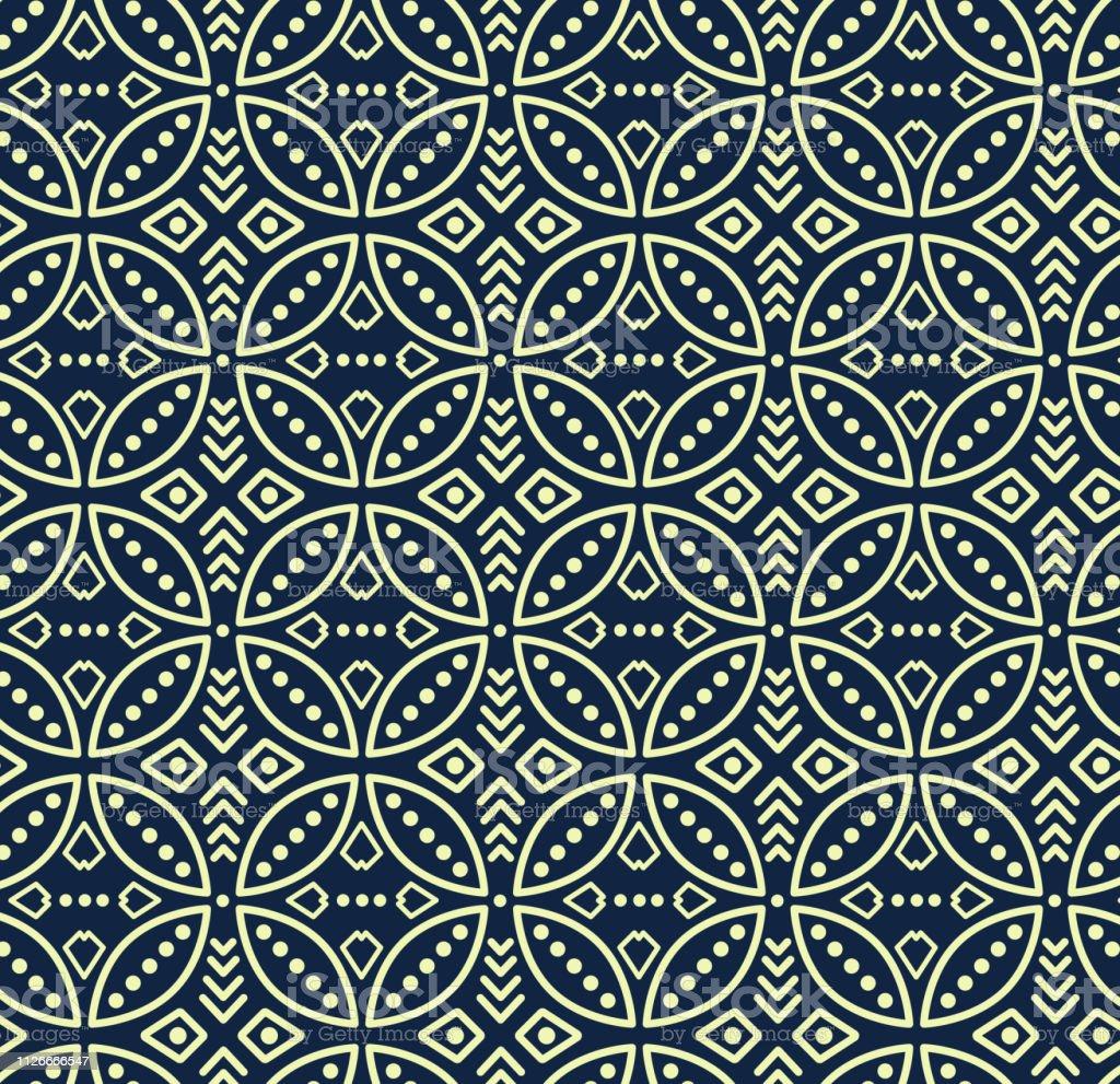 Motif Batik Bali Vector - Contoh Motif Batik