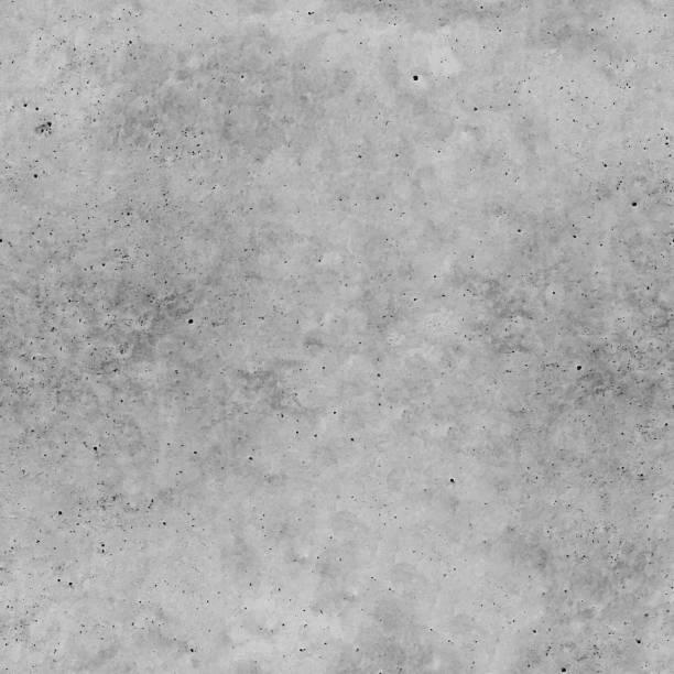 nahtloses vektormuster - natürliche rohe unebene schmutzig poliert beton textur hintergrund - realistische beton oberfläche mit sichtbaren unvollkommenheit punkte körnige oberfläche und farbverläufe in grautönen - beton stock-grafiken, -clipart, -cartoons und -symbole