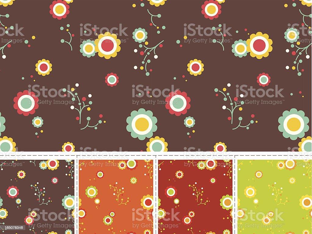 Seamless vector pattern royalty-free stock vector art